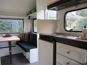 Knus treinzit en keuken open-op maat